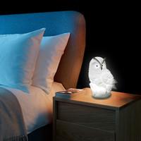 Светодиодный прикроватный настольный светильник ночные фонари сова лампа DC5V милый светодиодный столик настольный светильник LR44 аккумулятор питание животных ночной свет для спальни