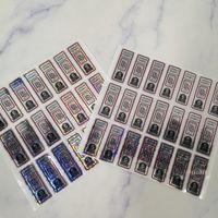 حقيبة ظهر جديد بويز ملصقات الهولوغرام فقط BB 5 نقاط قبول تخصيص 3D الهولوغرام ملصقات ملصقات الكوكيز