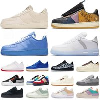 chaussures Force 1 shadow off white mca moma af1 low travis scott cactus jack just do it airforce forces one type react hommes femmes formateurs baskets de sport