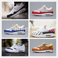 Nike air max airmax 87 90 2020 رجل 1 الاحذية 87 العبث أسود أبيض أزرق صور لها النهار حزمة كبسولة من الرجال والنساء المدربين أحذية رياضية