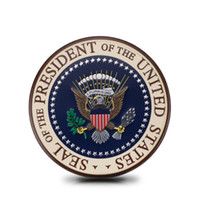 Acessórios Adequado para Cadillac U.S. Presidente Distintivo Adesivos de Carro de Metal Personalizado Adesivos De Metal Carro Decoração Do Corpo Lado Etiqueta Etiqueta da cauda