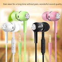 Verdrahtete Kopfhörer in Ohr Headset Stereo Kleine günstige Kopfhörer Super Bass 3,5mm Jack für Smartphone