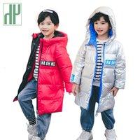 Chaqueta de invierno de 2020 hh nuevos niños del estilo de pato blanca niñas caliente de la capa Parkas para los bebés Prendas de abrigo Abrigo infantil