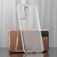 삼성 갤럭시 S21 Ultra Plus 전화 케이스 클리어 2mm TPU 투명 A12 A32 5G A42 A
