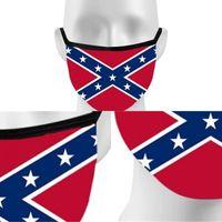 Reuseable تنفس الوجه الفم قناع أعلام قابل للغسل الكونفدرالية ترامب Mascarillas الانتخابات التهوية خماسية نجوم 2 8hk F2