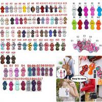 182 Colori Pattern Stampa Chapstick Holder Portachiavi Girl Girl Capstick Rossetto Portachiavi per favori per partito Xmas Valentino Regali USA