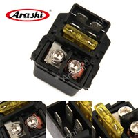 Arashi Electrical Starter Relay solenoide para HONDA CBR1000RR 2004 - 2007 CBR600RR 2007 - 2010 CBR1100XX 1500 GL1500C Valkyrie 1997 - 2003