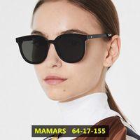 Occhiali da sole 2021 Donne di design coreano Donne Trendy GM GRANDE Frame Uomo Vintage Occhiali da sole delicati Delicato Pacchetto originale MAMARS