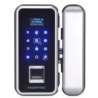 Doorbells Smart Door Lock Empreintes digitales Openouilleur numérique électronique Sécurité biométrique RFID électrique Sécurité double mot de passe Double ACC