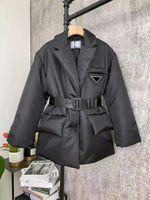 Chaqueta para mujer Abrigos Down Winter Abrigo Largo Estilo de Moda con Corset Corset Lady Slim Chaquetas de Moda Bolsillo Abrigos Calientes