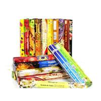 1 scatola Fashiom Handmade Darshan Incenso Stick Incenso / Incenso Bastoncini Fragranza multipla Home Decor Jllsha Yummy_shop