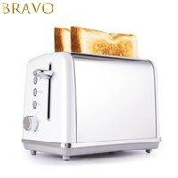Nuovo Pane tostapane in acciaio inox Toast macchina Toasters forno di cottura Elettrodomestici da Cucina Colazione panino del fast Maker