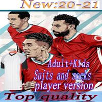 20 21 لاعب نسخة LVP Soccer Jerseys Gerrard Special Edition Smicer Alonso Hamann Barnes Kuyt Cisse جديد 2021 كرة القدم قميص الرجال + أطفال