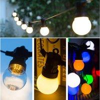 IP65 LED غلوب G50 متعدد الألوان لمبة سلسلة للربط في الهواء الطلق ملون سلسلة الأنوار الزفاف حزب ديكور عيد الميلاد الجنية جارلاند
