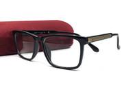 Vente chaude Nouveaux lunettes Hommes et femmes Spectacle de mode lunettes optiques Lecture de myopie Eyewear Cadre Oculos avec étui