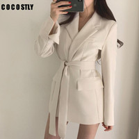 2021 Automne Femmes Blazers et vestes Blazer blanc Femmes Veste longue Blazer Noir Blazer Cape Plus Taille Taille Femme Femme Femme