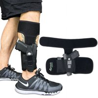 أخفى الناقل (TM الكاحل الحافظة لإخفاء تحمل مسدس | العالمي الساق كاري الحافظة مع مجلة الحقيبة لغلوك 42، 43، 36،