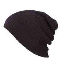 Хип-хоп вязаная шляпа женская зима теплая повседневная акриловая присяжная шляпа вязание крючком лыжная шапочка женское мягкое мешковатое черепочка