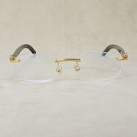 Ienbel Мужчины стеклянные рамки для роговой рамы буйвола женские украшения женские украшения бифокальные