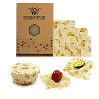 Lebensmittelsparer Lagerung Container Umweltschutz Wrap Bienenwachs Tuch Küchenwerkzeuge Wiederverwendbare Silikondichtung Frische Halten Kunststoff