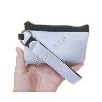 تسامي التسامي النيوبرين بطاقة الهوية فارغة حامل متعددة الوظائف نقل الحرارة الطباعة diy مصغرة كوين محافظ تغيير محفظة حقائب F102306