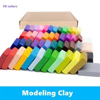 24 Pcs DIY Polymer Clay Baking Hand Casting Kit Puzzle Modeling Baby Handprint Slime Slimes Fun Toys For Children 201226