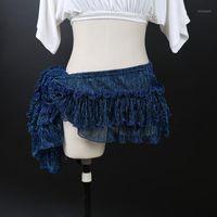 Diseño de desgaste del escenario Disfraz de danza del vientre Bufanda de la cadera para las mujeres bailando cinturones en las ventas1