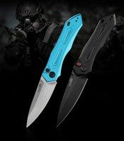 커쇼 7800BLK LAUNCH 6 AUTO-MAGIC 자동 칼 CPM (154) 블레이드 양극 처리 알루미늄 핸들 사냥 캠핑 생존 전술 접는 칼을 접는