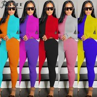 RMSFE 2020 Energético Energético Correr Deportes Sportswear Set Verano Matching Young Sets Mujeres de manga llena Top y pantalón Sets de invierno1