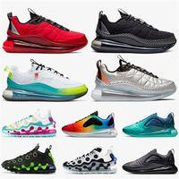 Top scarpe da corsa per uomo donna ISPA 720 818 Università rossa nera grigio in tutto il mondo bianco metallico argento maxes formatori scarpe da ginnastica sportive