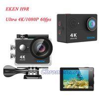 Cámara de acción original EKEN H9R con control remoto HD 4K WiFi 1080P LCD 170D Pro Sports Cámara impermeable con caja de venta al por menor