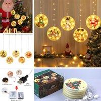 2020 Aydınlık Noel Karantina Süsler Led Işık Dize DIY kolye Kişiselleştirilmiş Led Işık Noel Şenlikli Parti Ağacı Dekorasyon