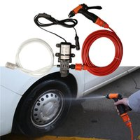 Car Wash 12v Car Washer Gun Pump High Pressure Cleaner Car Care Portable Washing Machine Electric Cleaning Device H sqcFCZ