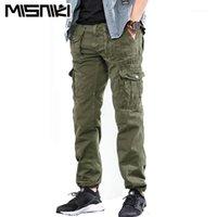Pantalon Hommes Misniki 2021 Mens Cargo Coupe droite Pantalon Tatical Casual CyL Long Cyg3531
