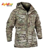 Men Tactical Jacket New Spring Autumn US Army M65 Military Field Jacket Trench Coats Hoodie Casaco Masculino Windbreaker Y1112