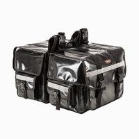 دراجة نارية أكياس 70L سعة كبيرة السرج موتو saddlebags ماء حقيبة الأمتعة العاكسة دراجة نارية مقعد حقيبة الجانب حقيبة 1