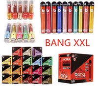 Yeni Bang XXL Tek Kullanımlık Vapes Kalem Cihazı 800 mAh Pil 6 ml Pods Boş Vaporlar 2000 Puffs Bang XXTRA Vape Kiti