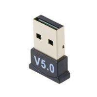 USB 블루투스 V5.0 CSR 무선 스테레오 미니 동글 어댑터 Win7 8 10 PC 노트북