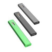 Authentic Green Bar Diapositiva monouso Dispositivo Penna Vai 280mAh Vuoto olio spessa VAPorizer Kit Starter Nero Grigio Grey Green