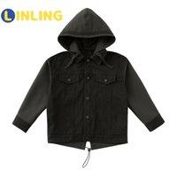Линяя активная детская одежда мальчик корейские моды куртки 2020 осенью уличная одежда ветровка Harajuku Coats V260 LJ201128