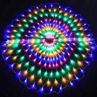 3M 412 LED LED LED LED String String de Noël Décorations de fête de mariage Fond de rideau Fête Fairy Fil de cuivre LED 220V / 110V