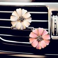Auto Profumo Clip Outlet Medaglione Clip Flower Auto Deodorante Deodorante Condizionamento Vent Clip Home Essenziale Diffusore di olio per auto LXL113 33 N2