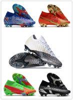 Origianl 2021 superfly vii 7 360 النخبة se fg cr100 روزا النمر cr7 رونالدو نيمار رجل بنين كرة القدم أحذية كرة القدم الأحذية المرابط US3-11