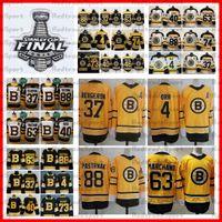 2021 Retro Retro Boston Bruins 88 David Pastrnak 37 Patrice Bergeron 63 Brad Marchand Krejci Tuukka Rask McAvoy Debrusk Orr Hockey Jerseys