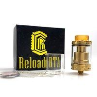 Vendita calda Ricarica RTA 2ml E sigaretta Ni80 Wire Wicks Vape 24mm Serbatoio ricostruibile per vaporizzatore 510 filettatura mod