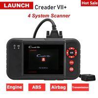 Creader originale VII PLUS OBD2 Motore scanner per auto ABS ABS Airbag Strumento diagnostico Automotive Code Reader PK CRP1231