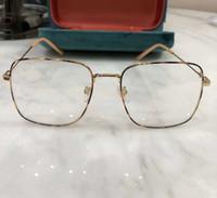 Kadınlar Işık Havana Altın Gözlükler 0445 Ç Tam çerçeve Optik Çerçeve Box ile net Sunglasses sz47-21-150 Moda Güneş gözlüğü Çerçeveler Gözlük