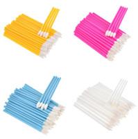 600 stücke Wegwerf Lippenbürste Wimpern Make-ups Pinsel Pleapl Erweiterung Mascara Applicator Lippenstift Zaubersteine Set Kosmetische Makeup-Werkzeuge