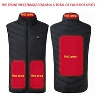 Electric USB JacketThermal Coats Body Warmer Men Women Heating Jacket Coat Clothing Camping Skiing Hiking Warm Pad Heated Vest