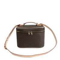 Designer BB BB di alta qualità BB Designer Donne Donne Organizzatore Cosmetico Caso Voyage Moda Cosmetici Sacchetto del sacchetto di grande capacità in vera pelle